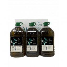 La joya del Monte Legado de Don Hilario Aceite de oliva virgen Extra caja de tres garrafas lista para envio