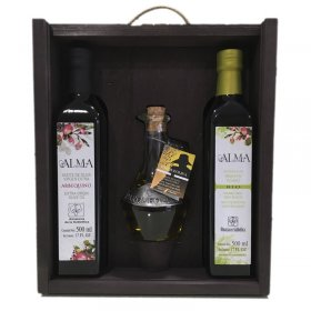 A gift from the company original pack of olive oil Soul