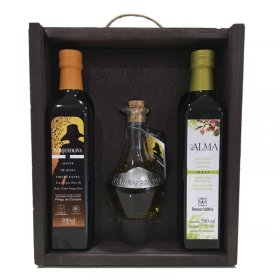 Case olive oil - ParqueOliva 3 Bottles