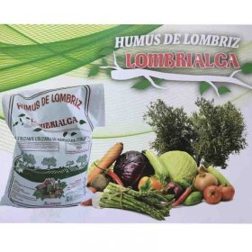 Worm humus Lombrialca with useful properties