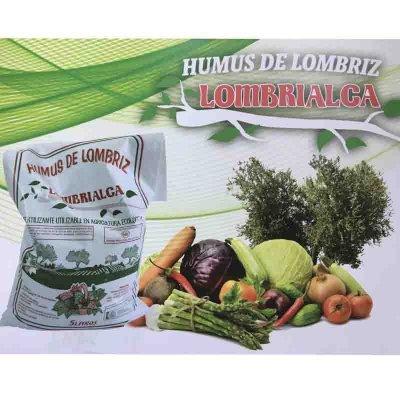 Humus de Lombriz Lombrialca con beneficiosas propiedades