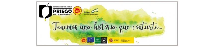 El Mejor Aceite de Oliva Denominación de Origen Priego de Córdoba