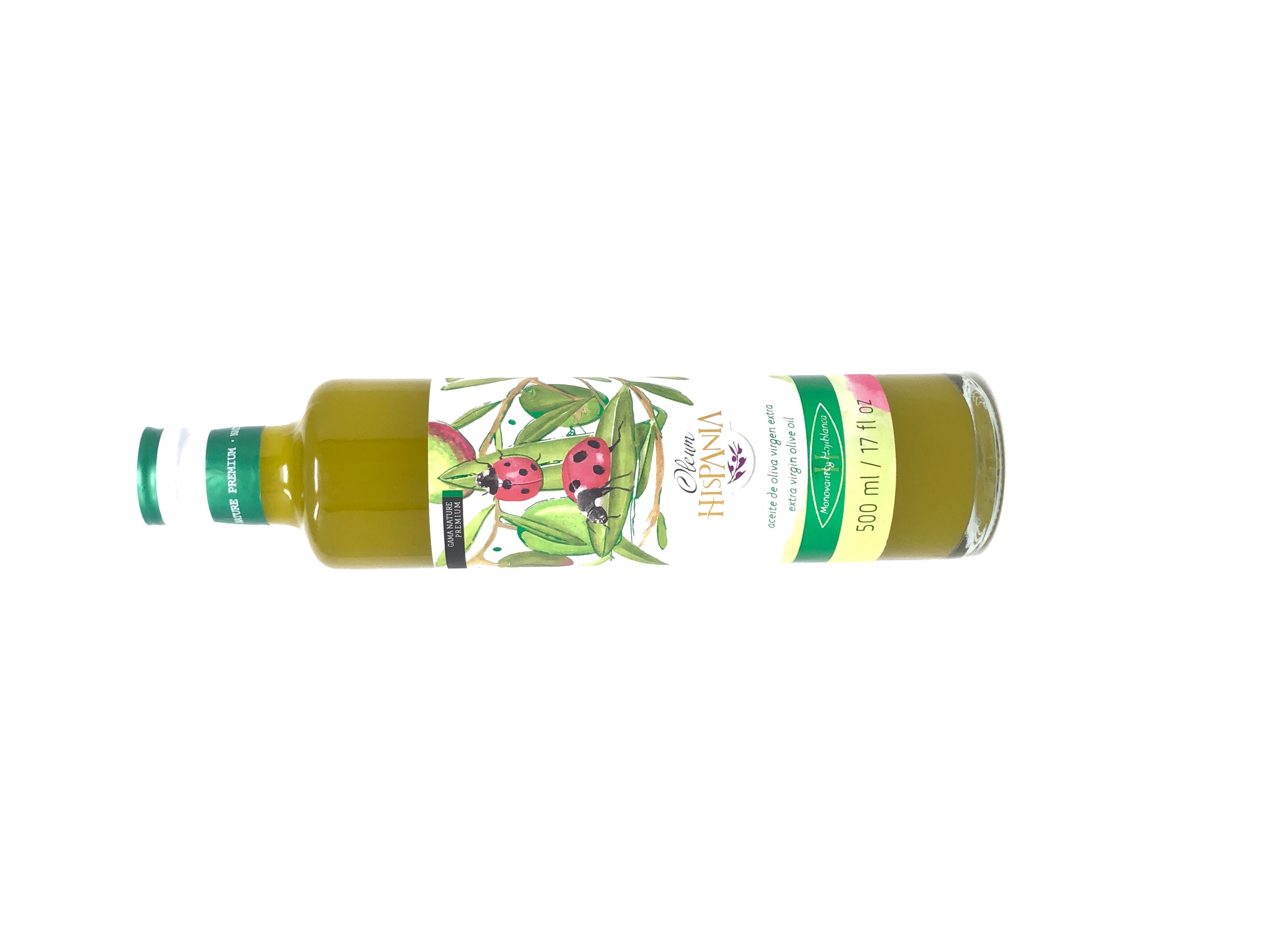 aceite de oliva de priego de cordoba hispania nature premium de cosecha verde procedente de olivos hojiblanca