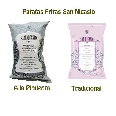 Patatas fritas San Nicasio, al estilo tradicional y las nuevas patatas fritas san nicasio a la pimienta, !No te las puedes perder¡
