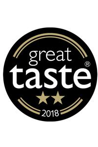 premio con dos estrellas por la great taste 2018