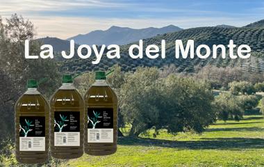 la joya del monte es un aceite de oliva virgen extra gran selección de aceitunas de priego de cordoba