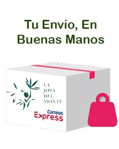 En nuestra tienda, alimentos saludables de priego de cordoba, nos tomamos como parte de nuestra responsabilidad el envio de tus pedidos, por eso, solo enviamos con los mejores.